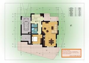 1-ви етаж - зелен